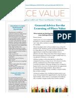 place value - parent leaflet  1