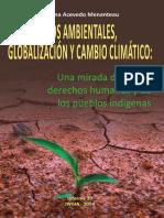 Cambio Climatico y Desplazamiento Ambiental