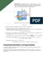 ortogonalidad