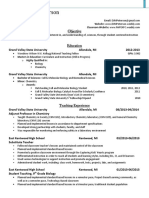 douglas peterson education resume  2016