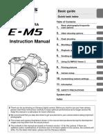 E-m5 Instruction Manual En