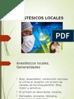 Anestésicos Locales-