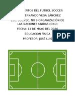 Fundamentos Del Futbol Soccer