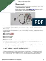 Controle Remoto IR No Arduino