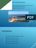 Desalinizacion Del Agua de Mar