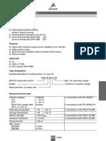 Varistores Datasheet b82422t1332k-Epcos