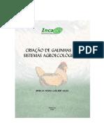 Livro Criação de galinha - Marcia Sales