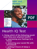 Holt Decisions for Health Level Green ppt Chapter 1