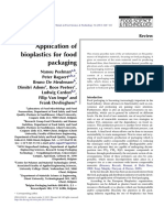 Application of bioplastics for food packaging.pdf