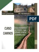 Upao Caminos Semana 1