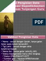 Validasi Dan Info Gtk 2016
