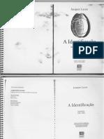 Jacques Lacan - O Seminário - Livro 9 - A Identificação