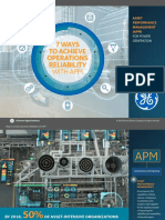 Achieve Operations Reliability With APM