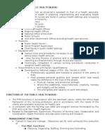 Qualifications of Public Health Nurse