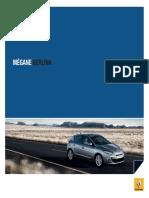 Renault Megane Berlina 2010 - Catálogo Janeiro 2010