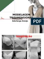 Modelagem  TRIDIMENCIONAL inspiração