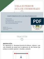 Tracción-Compresión RESISTENCIA DE MATERIALES