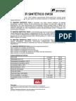 f1 Master Sintético 5w30 - Ficha Técnica