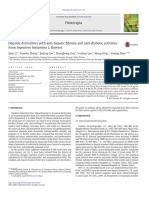 Depside Derivatives With Anti Hepatic Fibrosis and Anti Diabetic Activities From Impatiens Balsamina L Flowers 2015 Fitoterapia