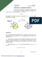 Funciones Variable Compleja