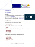 ODBC Programming in CShape