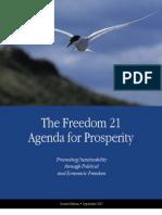 Freedom 21 Agenda