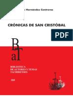 Crónicas de San Cristóbal