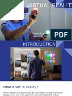 Virtual reality presentation