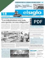Edicion Impresa El Siglo 18-05-2016