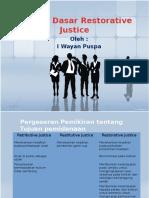 Restoratif Justice Dan Diversi