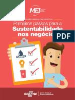 Sebrae Guia Primeiros Passos Sustentabilidade Mei