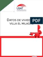 Tablas - Graficos y Interpretación - VILLA EL MILAGRO