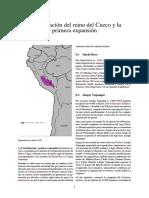Consolidación Del Reino Del Cuzco y La Primera Expansión