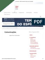 Comunicações - SOTER _ Sociedade de Teologia e Ciência Da Religião