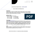 Mantas de Polietileno Rapid Cover PE-300 - 2013 Oct