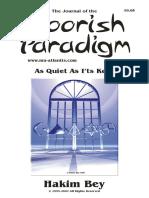 Moorish Paradigm Book 8