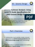 Seismic Pushover Analysis