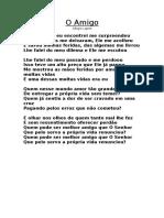 O Amigo - Sérgio Lopes