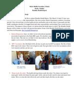 2. MARCH-APRIL. Monthly Health Report Saacha Dorji, Darla MSS - Copy