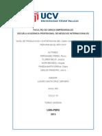 """""""Nivel de Produccion y Exportacion Del Camu Camu en La Amazonia Peruana en El Año 2014"""