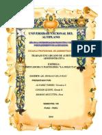 Auditoria DE LA EMPRESA SELECTA