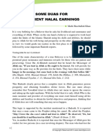 Some Duas to Have Efficient Halal Earning