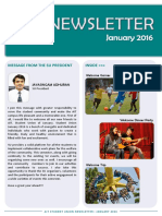 AIT SU Newsletter (January 2016)