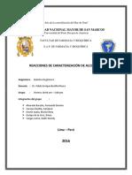 Informe N 4 Caracterización de Alcoholes