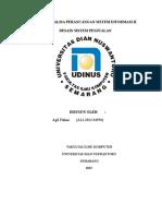 Tugas Analisa Perancangan Sistem Informasi II (Agil)