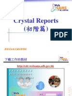 crystal reports elementary