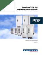 VFX Instruction Manual Spanish