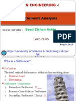 lec 2+3 Settlement Analysis