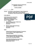 APTEL Order No3 of 2012
