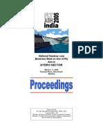 Seminar on Hydro Sector - Proceedings